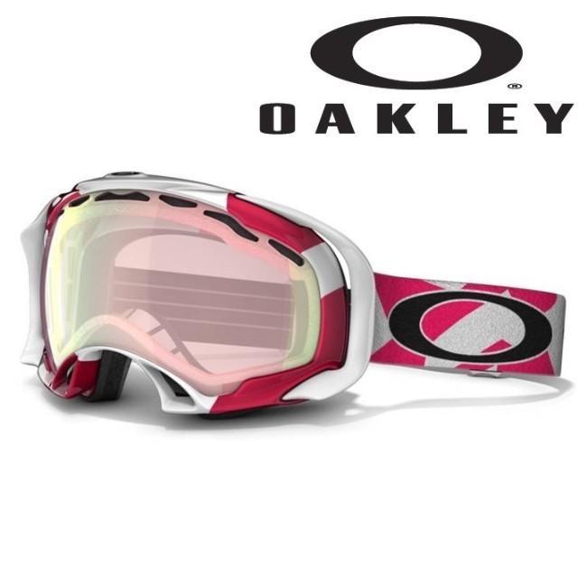激安SALE SPLICE Factory Slant Lava/VR50 ピンク Iridium OAKLEY-オークリー 10/11 スノーボード/ゴーグル