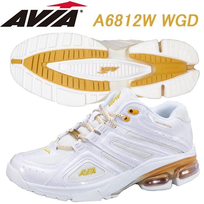 【激安】 AVIA フィットネスシューズ A6812W WGD, 名和町 06115f3c