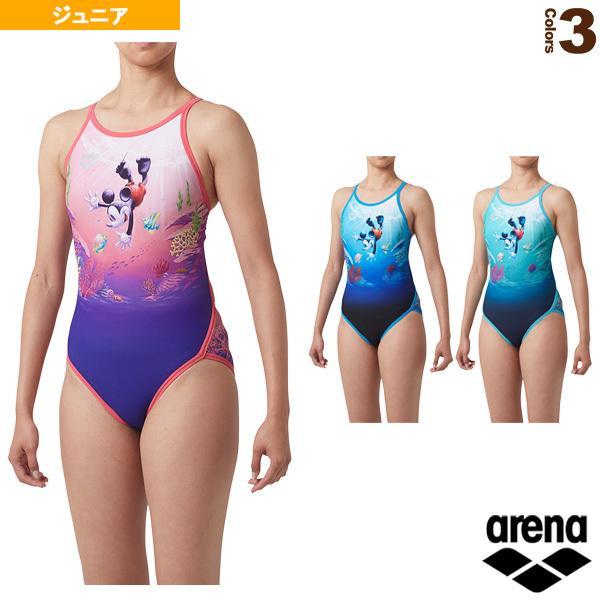 アリーナ 水泳ウェア(レディース) スーパーフライバック/ディズニートレーニング水着/ガールズ(DIS-9301WJ)