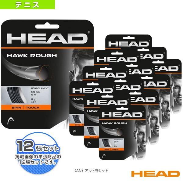 【メーカー公式ショップ】 ヘッド テニスストリング(単張) ヘッド 『12張単位』HAWK ROUGH/ホーク ROUGH/ホーク ラフ(281126)(ポリエステル)ガット, d-ポケット:871f4524 --- airmodconsu.dominiotemporario.com