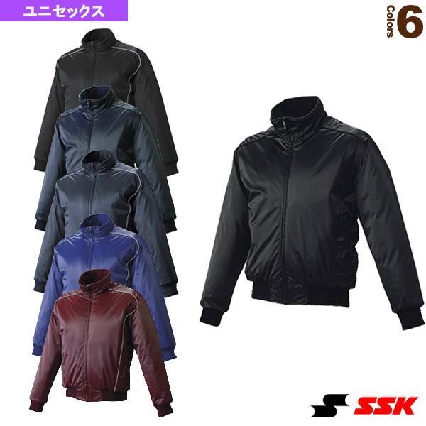 エスエスケイ 野球ウェア(メンズ/ユニ) 蓄熱グラウンドコート/フロントフルZIP/中綿(BWG1003)
