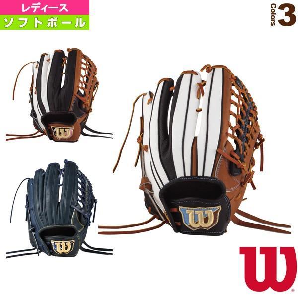 ウィルソン ソフトボールグローブ Wilson Queen DUAL/女子ソフトボール用グラブ/外野手用(WTASQSS7F)