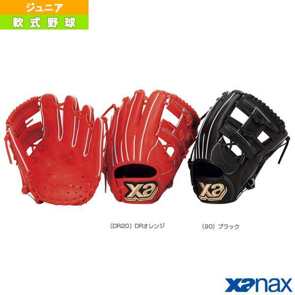 ザナックス 軟式野球グローブ Xana Power/ザナパワーシリーズ/軟式ジュニア用グラブ/オールラウンド小(BJG-4018)