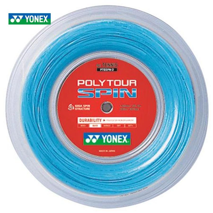 全国宅配無料 YONEX YONEX ヨネックス 「POLY TOUR SPIN 「POLY ポリツアースピン 240mロール PTGSPN-2」 テニスストリング TOUR ガット, 福岡町:b049e6f1 --- airmodconsu.dominiotemporario.com