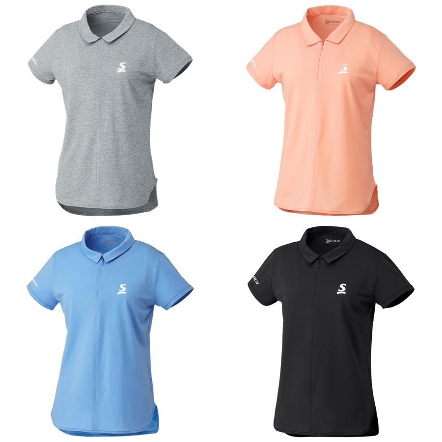 スリクソン SRIXON テニスウェア レディース ポロシャツ SDP-1922W 2019SS[ポスト投函便対応] 『即日出荷』