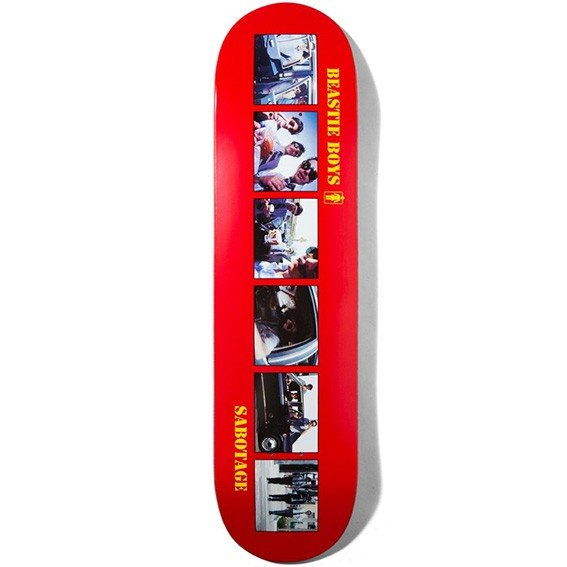 ガール スケートボードデッキ BEASTIE BOYS SABOTAGE 8.25×31.75 CB3674 GIRL
