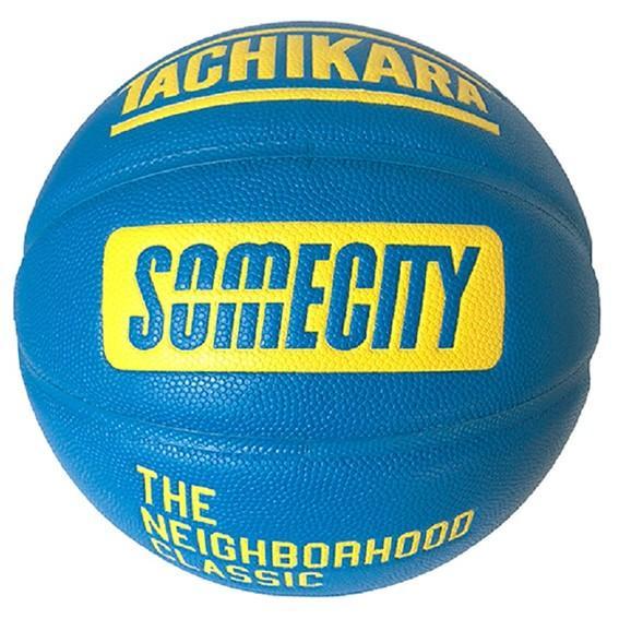 タチカラ バスケットボール サムシティ オフィシャル ゲームボール SB7-108 19SS SOMECITY OFFICIAL GAMEBALL TACHIKARA