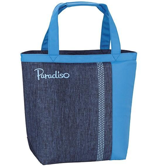 パラディーゾ テニスバッグ バイカラー トートバッグ TRA930BL 19SS Paradiso