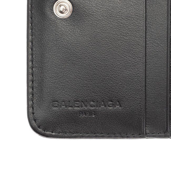 e280a53e4fa7 バレンシアガ 財布 BALENCIAGA 二つ折り財布 メンズ レディース ブラック ...