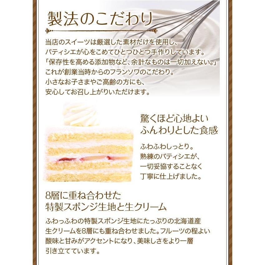 誕生日ケーキ バースデーケーキ 生クリーム デコレーションケーキ 5号 子供(凍)いちご 生クリーム ケーキ 誕生日 バースデー 洋菓子 srr-shop 08
