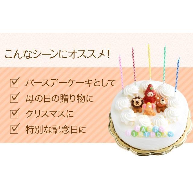 誕生日ケーキ バースデーケーキ 生クリーム デコレーションケーキ 5号 子供(凍)いちご 生クリーム ケーキ 誕生日 バースデー 洋菓子 srr-shop 10