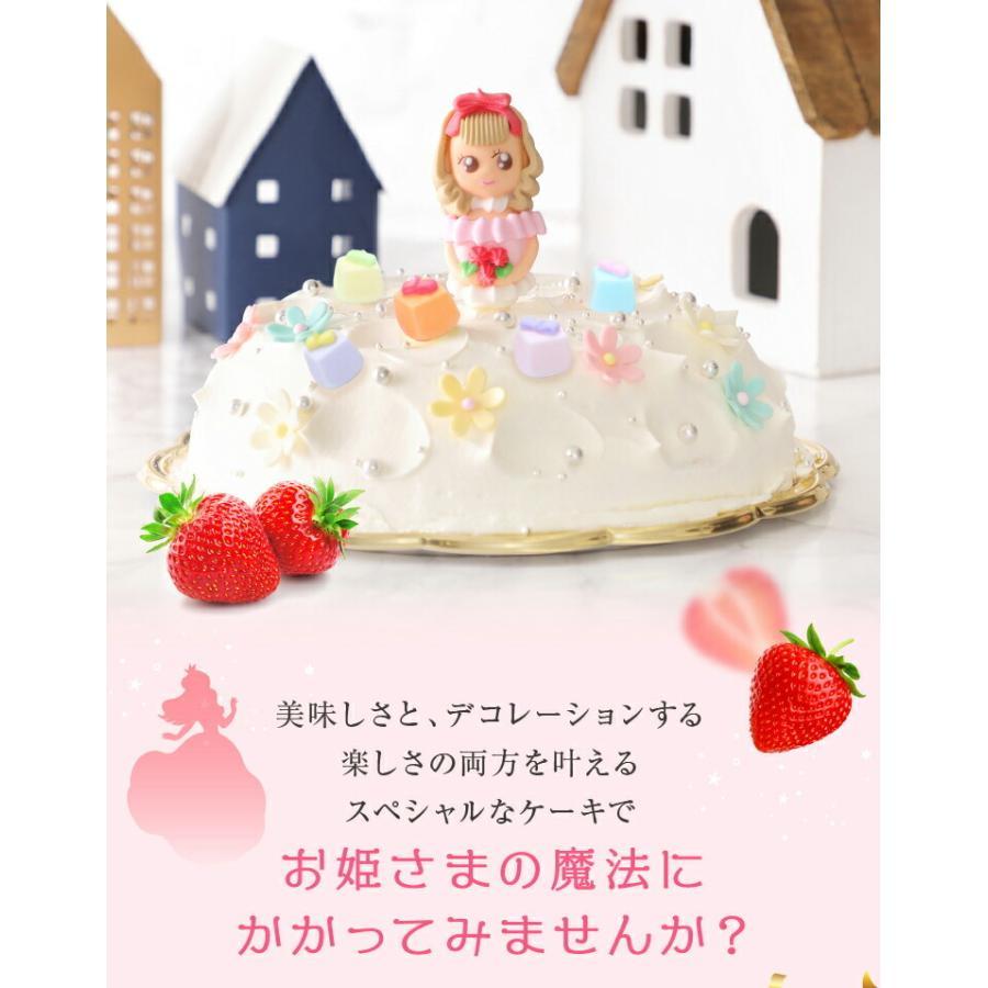 プリンセスケーキ バースデーケーキ 誕生日ケーキ スイーツ 7号(凍)ギフト 生クリーム 誕生日プレゼント 誕生日 ケーキ|srr-shop|04