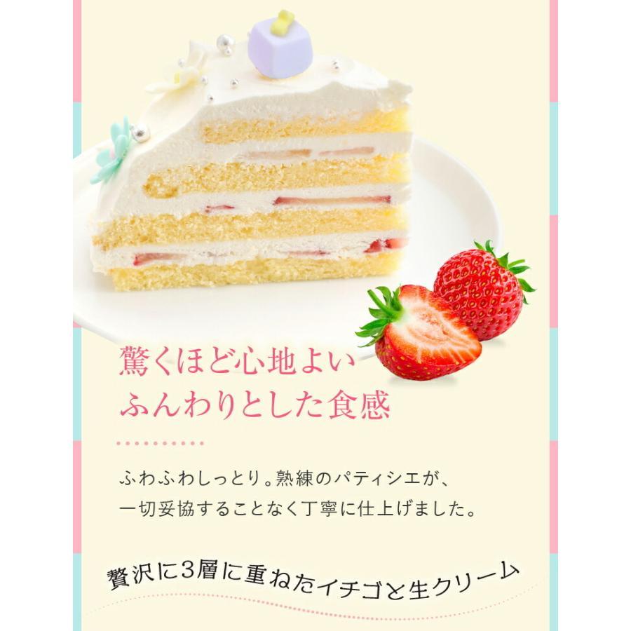 プリンセスケーキ バースデーケーキ 誕生日ケーキ スイーツ 7号(凍)ギフト 生クリーム 誕生日プレゼント 誕生日 ケーキ|srr-shop|10