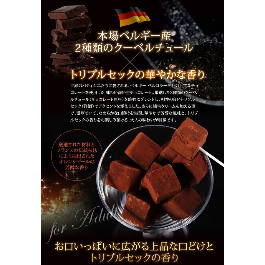 生チョコレート Sai 10粒入(凍) チョコ ギフト 生チョコ チョコレート スイーツ|srr-shop|03