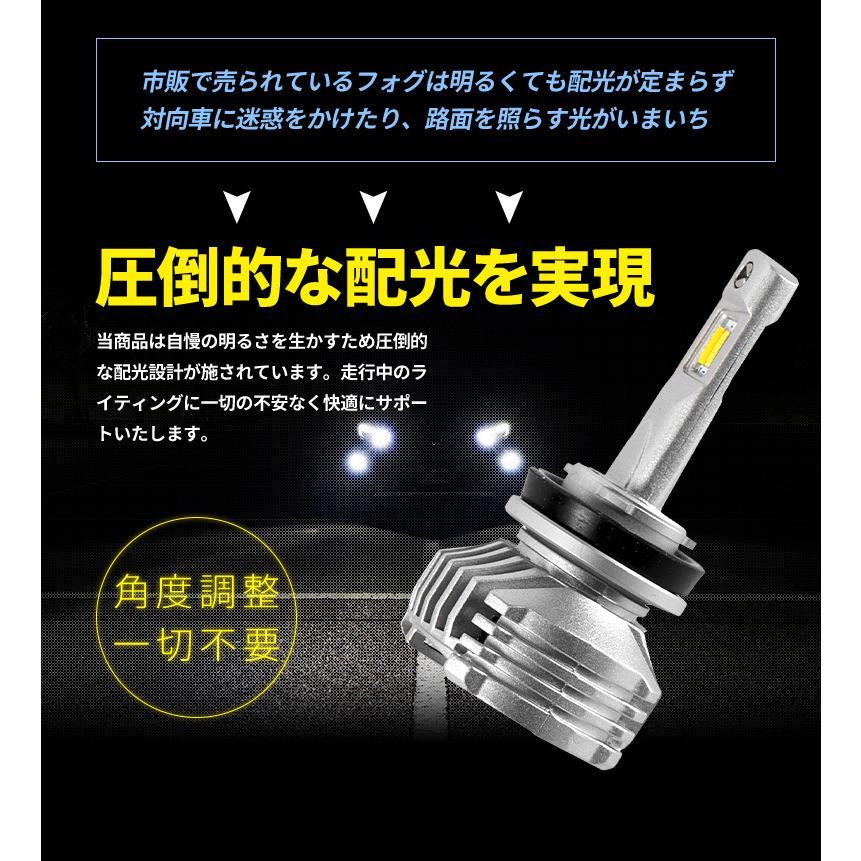 2色 フォグランプ 手元切替 イエロー ホワイト 発光 フォグ LED バルブ H8 H11 H16 HB4 シェアスタイル|ss-style8|11
