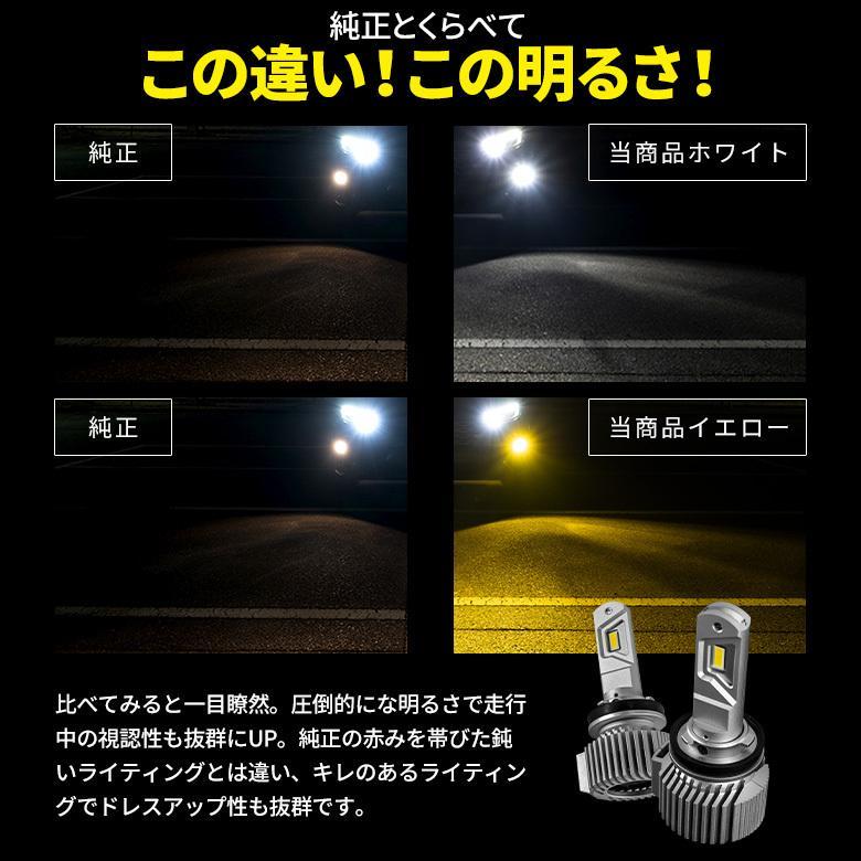 高輝度 LED フォグランプ Zハイパワープレミアムフォグ H8 H11 H16 HB4 シャインゴールド ホワイト LED 1年保証 車検対応 シェアスタイル|ss-style8|07