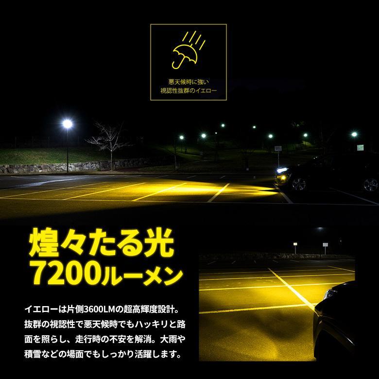 高輝度 LED フォグランプ Zハイパワープレミアムフォグ H8 H11 H16 HB4 シャインゴールド ホワイト LED 1年保証 車検対応 シェアスタイル|ss-style8|09