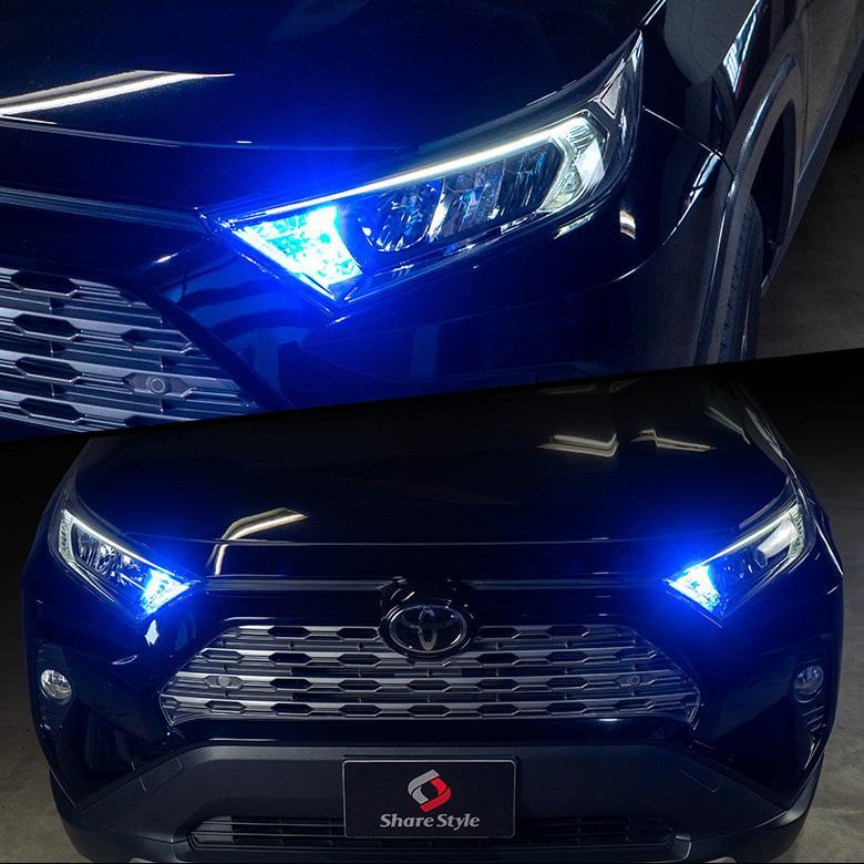 2色切替 ハイフラ抵抗内蔵 デイライト機能付き ウインカーランプ t20 s25 150度 アンバー ホワイト ブルー レッド led ウィンカー シェアスタイル|ss-style8|18