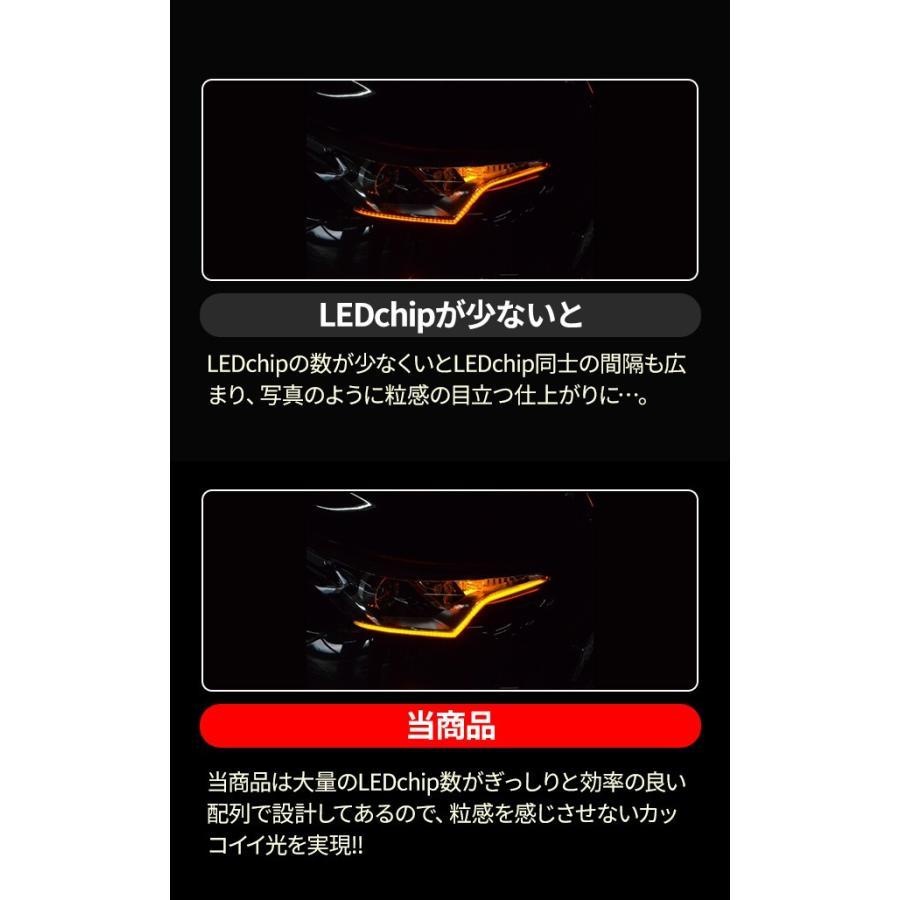 ウインカー専用シーケンシャルLEDテープ 流れる シーケンシャル 極薄 LED シーケンシャルテープ ウィンカー シェアスタイル ss-style8 10