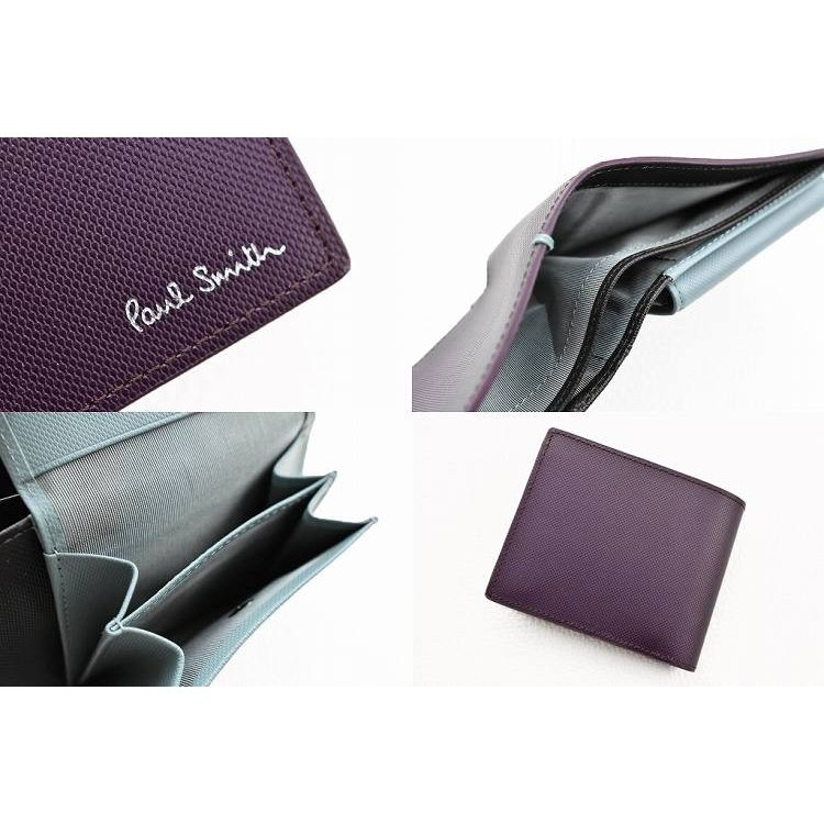 c14e95c6d457 ポールスミス 財布 二つ折り メンズ ブランド Paul Smith コントラスト ...