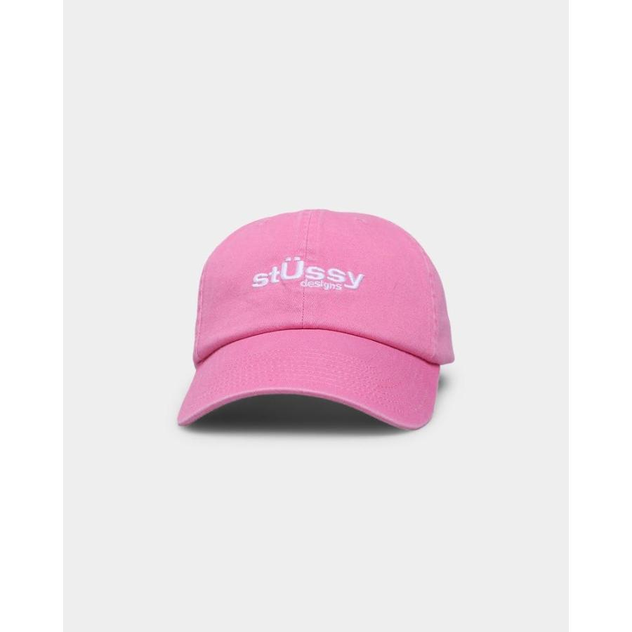Stussy ステューシー キャップ Big U Low Pro Cap ブラック BLACK 黒 ピンク PINK 帽子 ロゴ 定番 人気 ぼうし Stock Low Pro Cap ハット アクセサリー メンズ ssshop 08