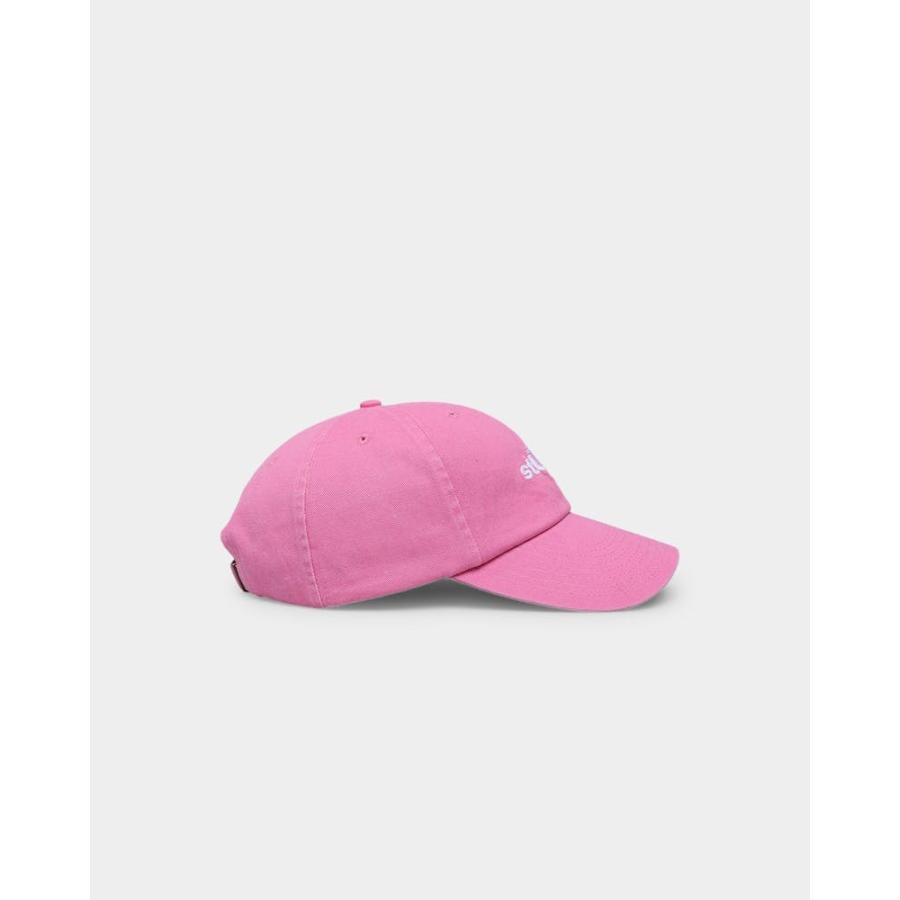 Stussy ステューシー キャップ Big U Low Pro Cap ブラック BLACK 黒 ピンク PINK 帽子 ロゴ 定番 人気 ぼうし Stock Low Pro Cap ハット アクセサリー メンズ ssshop 10
