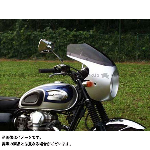 堅実な究極の GULL CRAFT W650 カウル・エアロ ブレットビキニ タイプC(スモーク) ルミナスビンテージレッド 送料無料 ガルクラフト, 厚田郡 d4866553