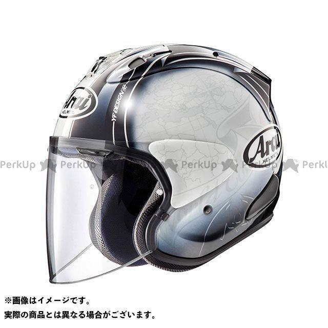 Arai ジェットヘルメット VZ-Ram HARADA TOUR(VZ-ラム・ハラダ ツアー) ホワイト 54cm アライ ヘルメット