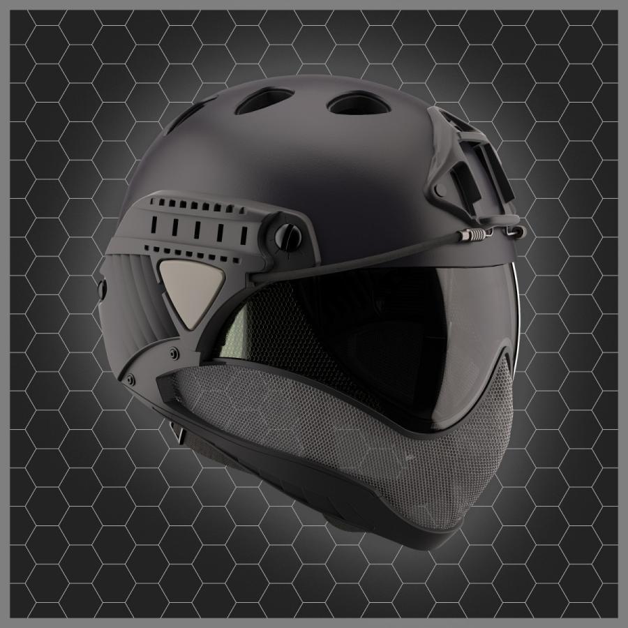 WARQ ヘルメット スタンダード 【BK・クリアスクリーン】|stad|03