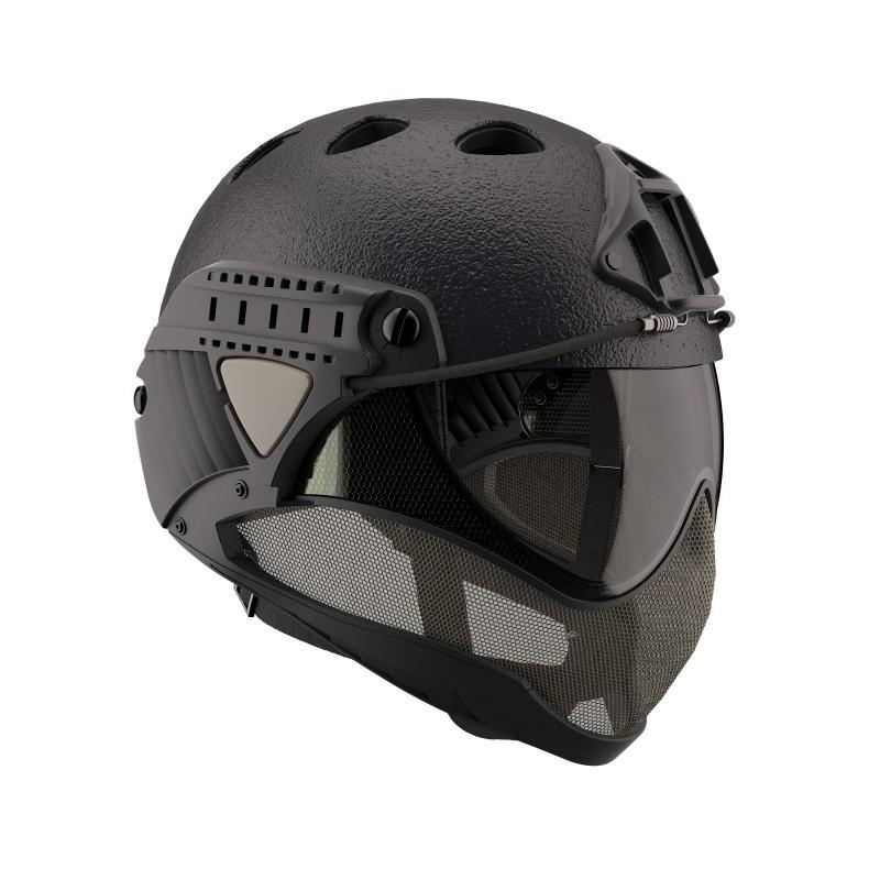 WARQ ヘルメット ラプター 【BK RAPTOR】|stad