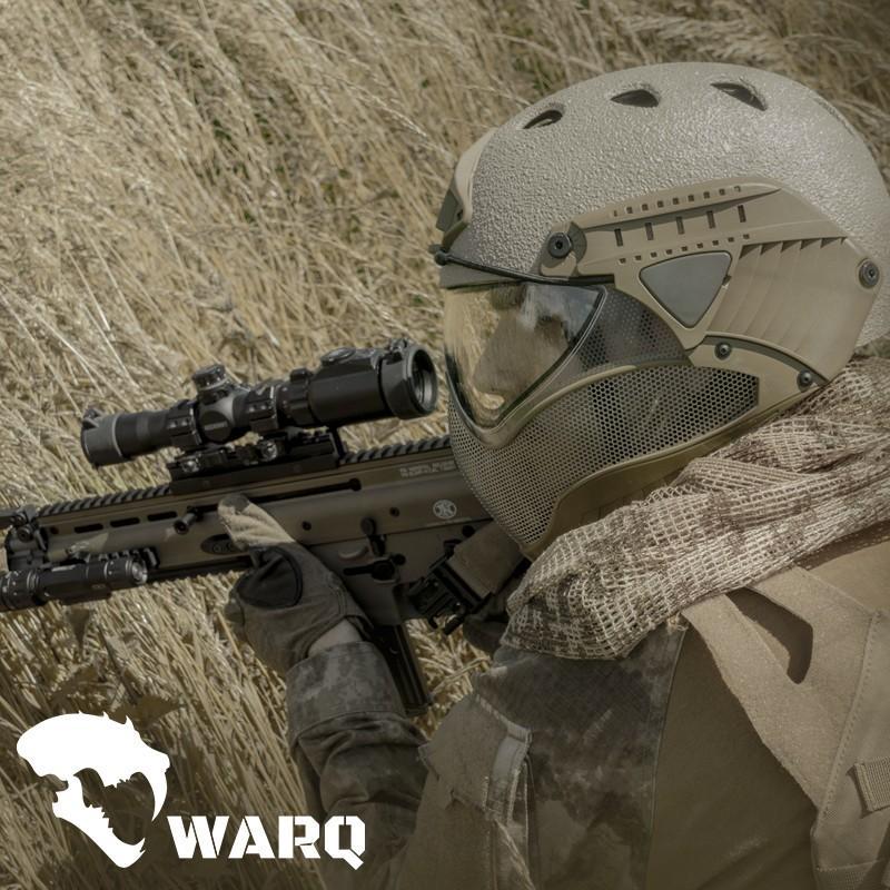 WARQ ヘルメット ラプター 【BK RAPTOR】|stad|05