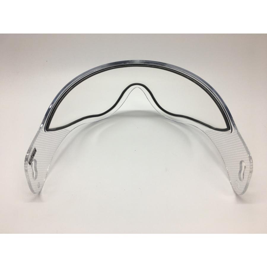 WARQヘルメット用 スぺアスクリーン クリアー|stad|04