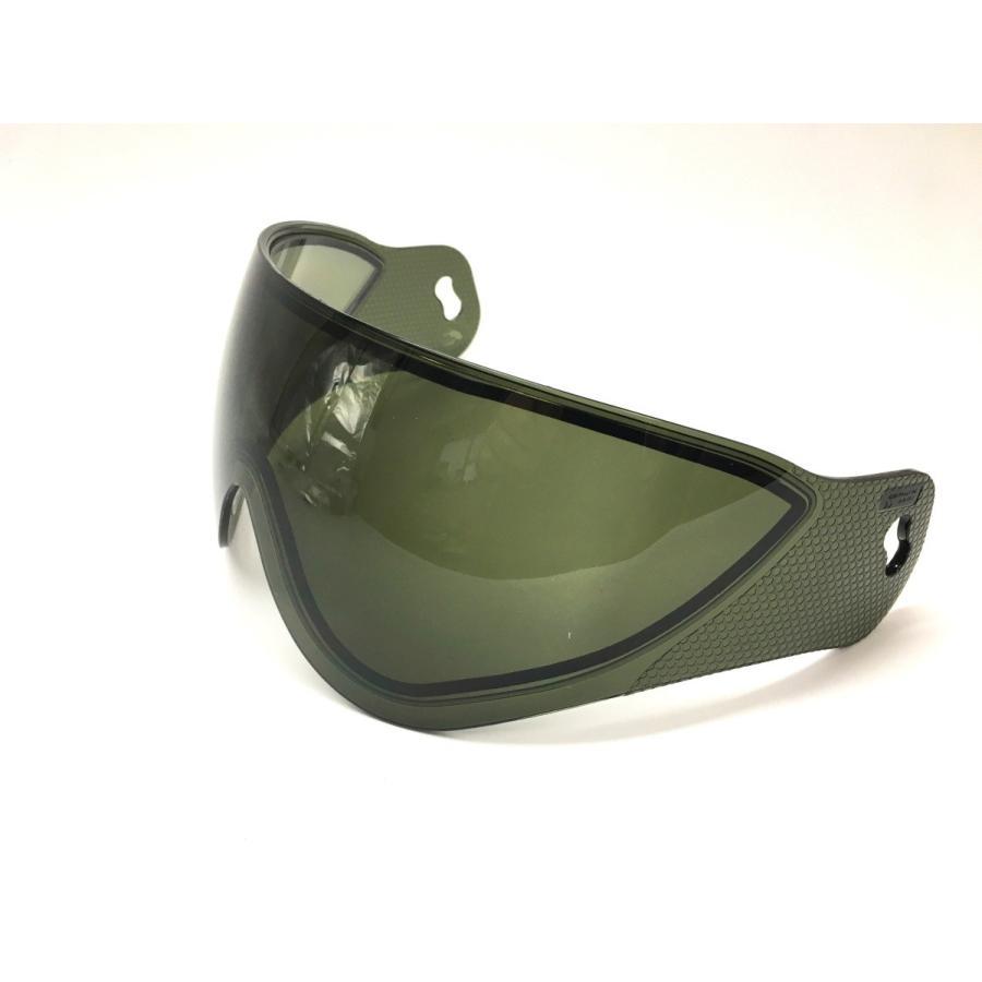 WARQヘルメット用 スぺアスクリーン スモーク stad