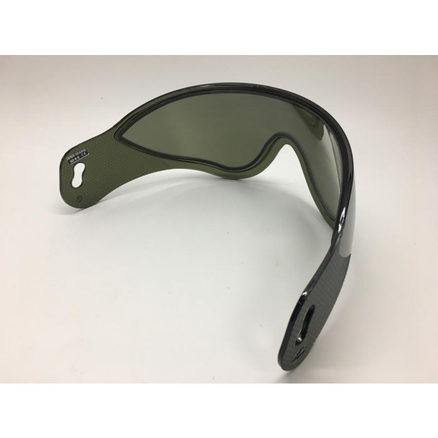 WARQヘルメット用 スぺアスクリーン スモーク stad 04