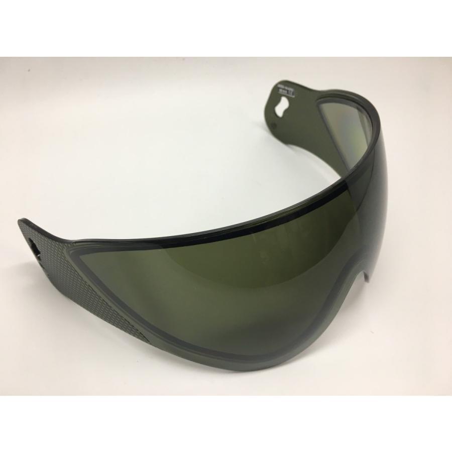 WARQヘルメット用 スぺアスクリーン スモーク stad 06