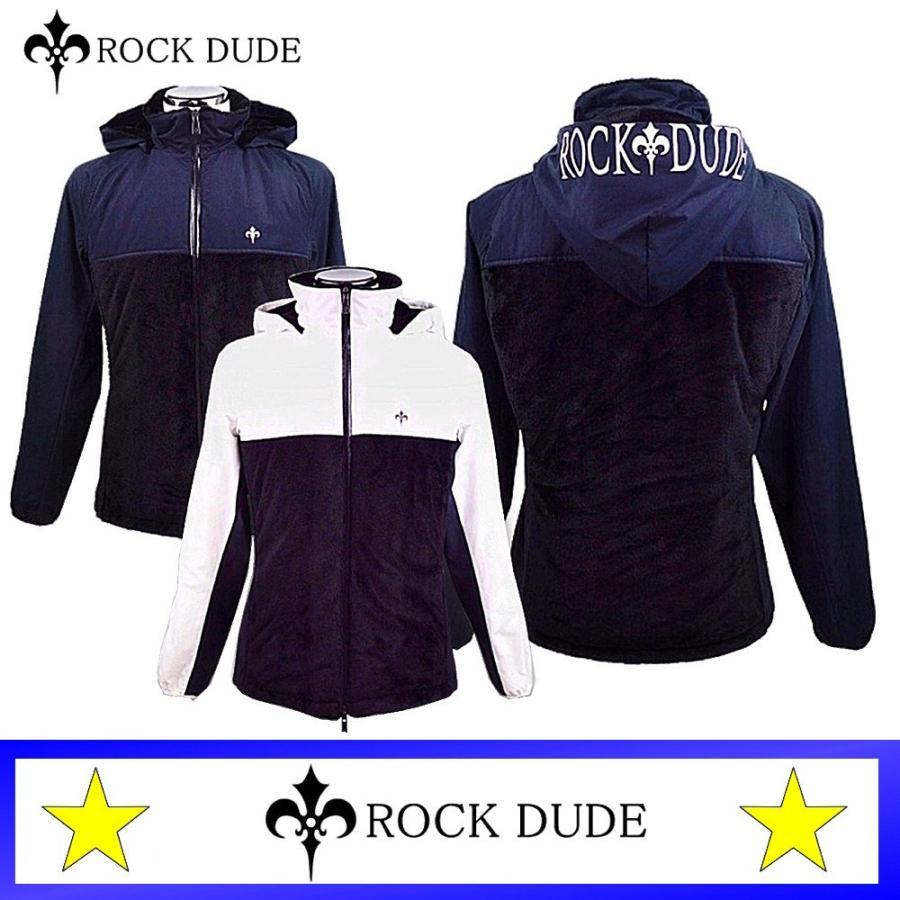 ロックドュード / ROCK DUDE (秋冬モデル!)撥水・ボアブルゾン(メンズ)ロックドュード
