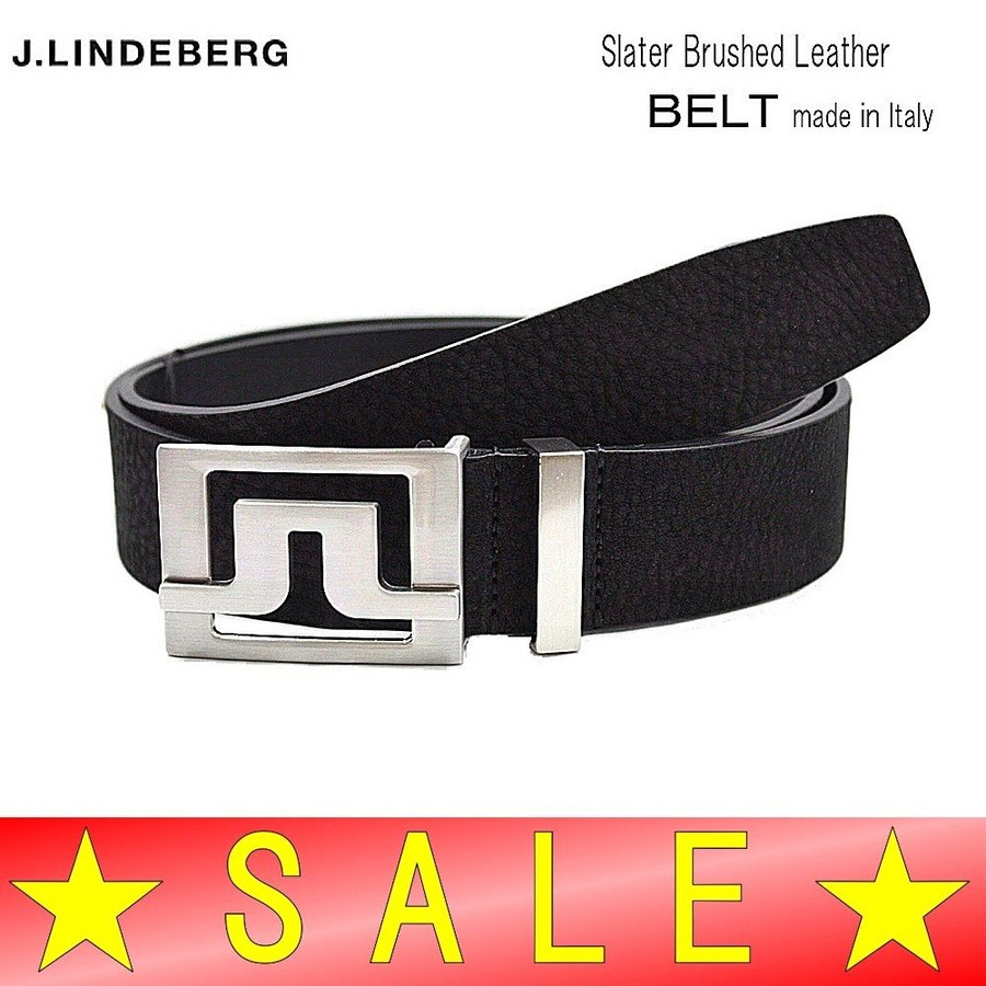 J.リンドバーグ / J.LINDEBERG (秋冬!)Slater Brushed Leather / ブリッジバックル ベルト/イタリア製(メンズ)17