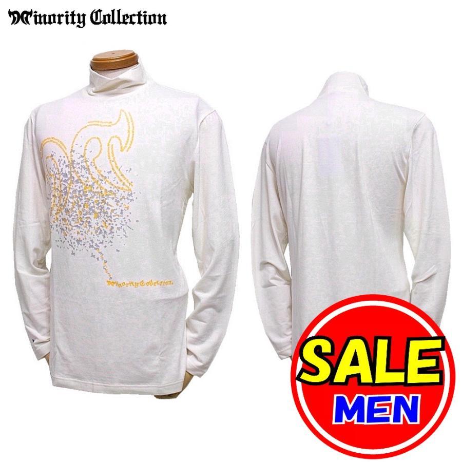 【30%OFF!セール】マイノリティコレクション Minority Collection 秋冬モデル ハイネックシャツ