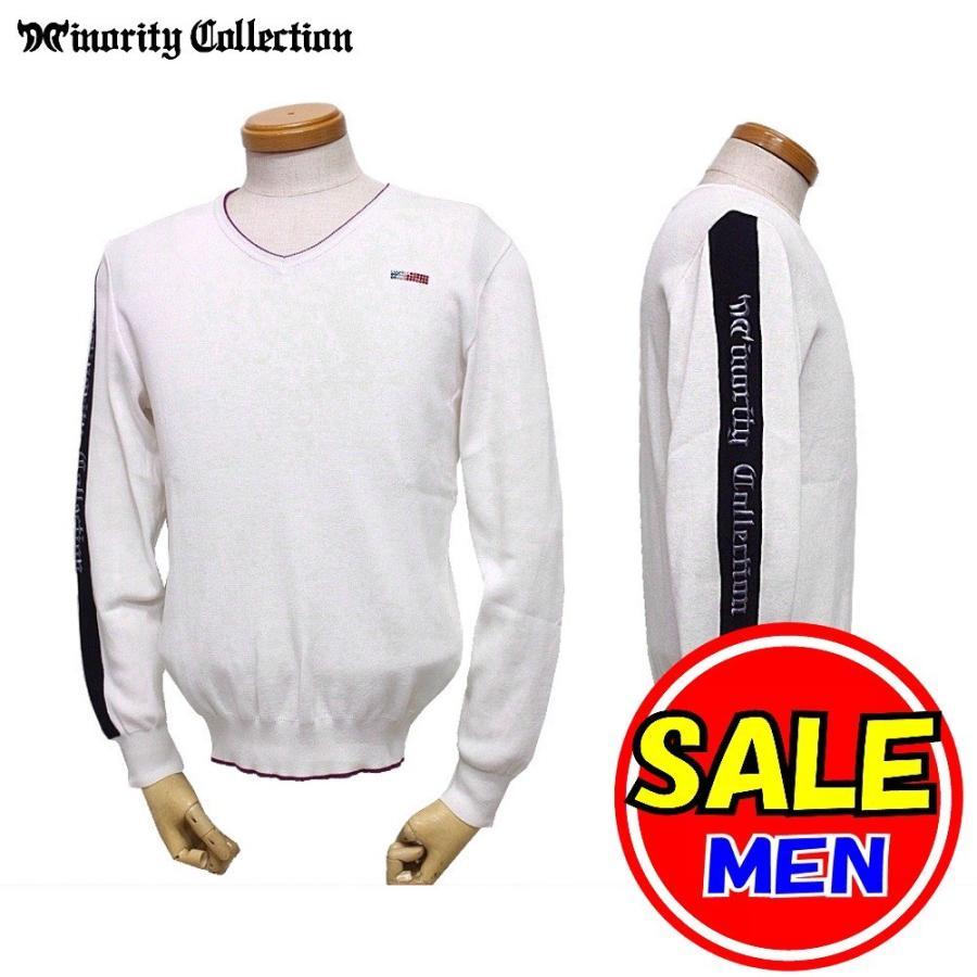 【40%OFF!セール】マイノリティ コレクション / Minority Collection/秋冬モデル/モノトーンコットンセーター(メンズ)