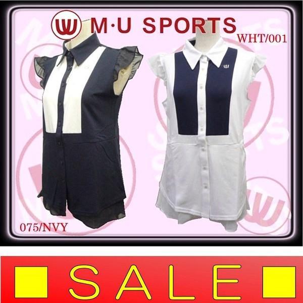 【50%OFF!セール】エムユースポーツ M・U SPORTS 春夏モデル 半袖シャツ