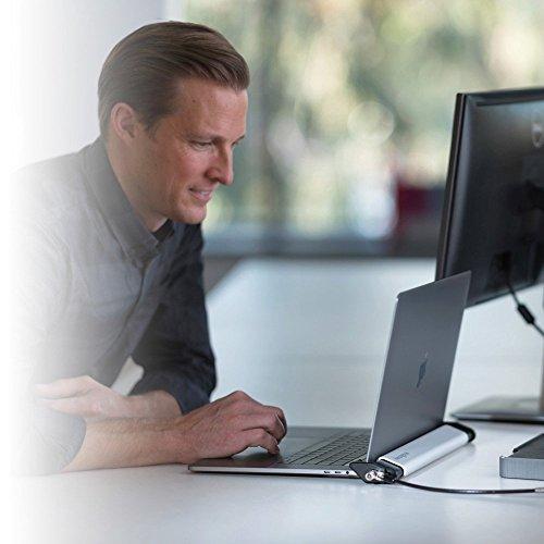 Kensington ケンジントン ノートパソコン ロッキングステーション 2.0 MacBook、超薄型PC対応 (セキュリティワイヤー Micro stakeba3 06