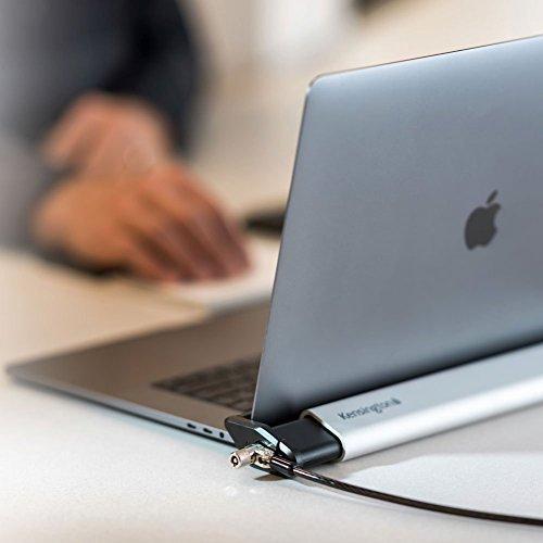 Kensington ケンジントン ノートパソコン ロッキングステーション 2.0 MacBook、超薄型PC対応 (セキュリティワイヤー Micro stakeba3 08