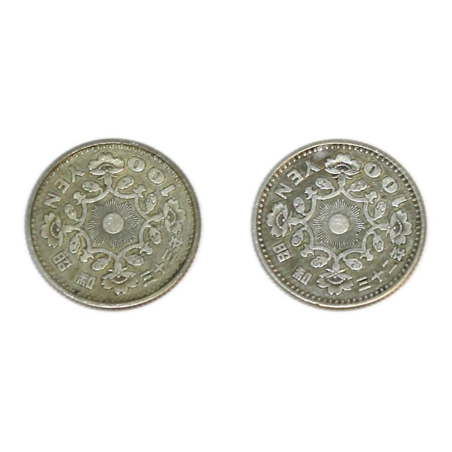 鳳凰100円銀貨 10枚セット! 銀を1枚あたり約2.88g 10枚で約28.8g含有!将来有望!|stamp-coin-ebisu|03