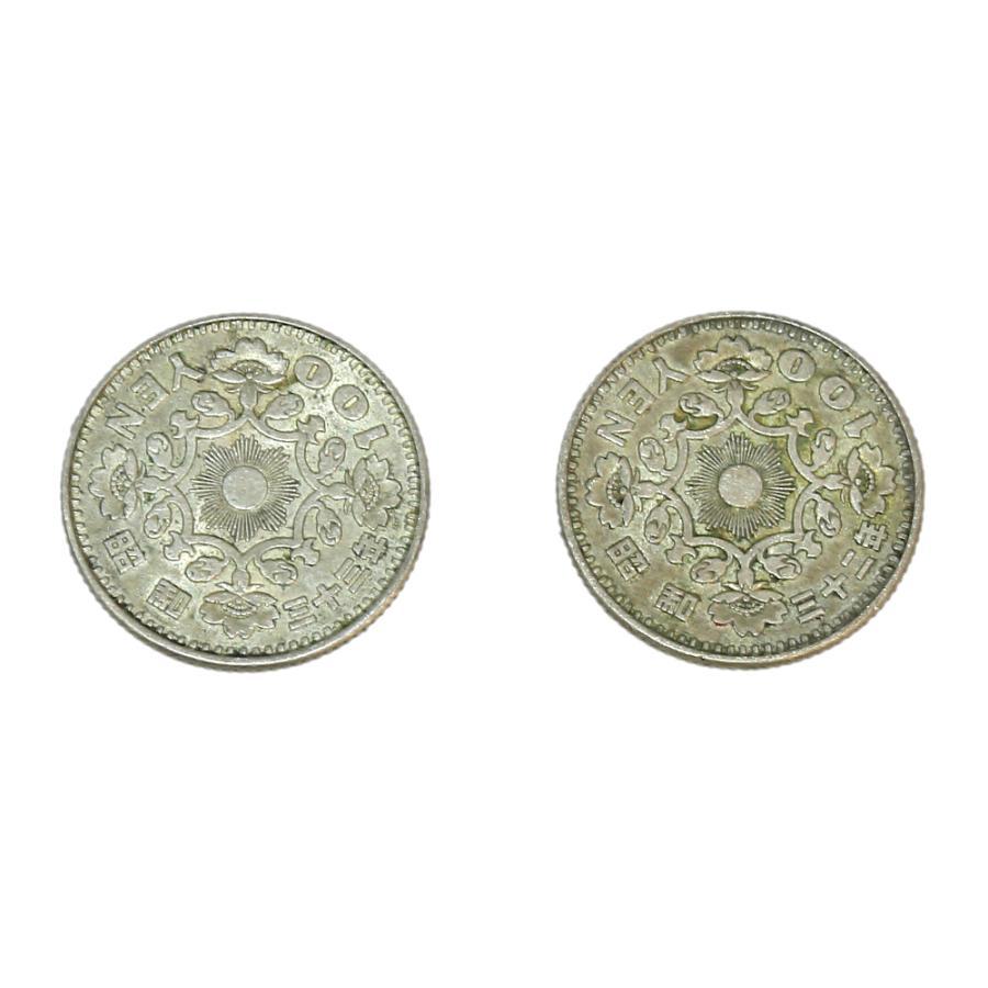 鳳凰100円銀貨 10枚セット! 銀を1枚あたり約2.88g 10枚で約28.8g含有!将来有望!|stamp-coin-ebisu|05