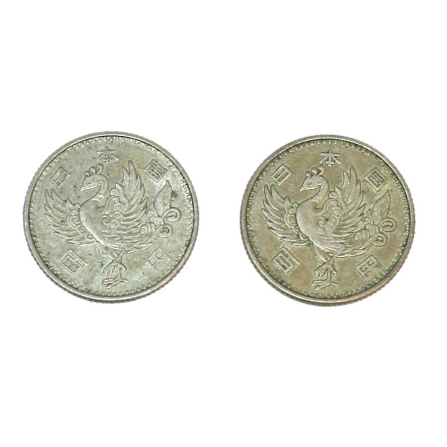 鳳凰100円銀貨 10枚セット! 銀を1枚あたり約2.88g 10枚で約28.8g含有!将来有望!|stamp-coin-ebisu|06