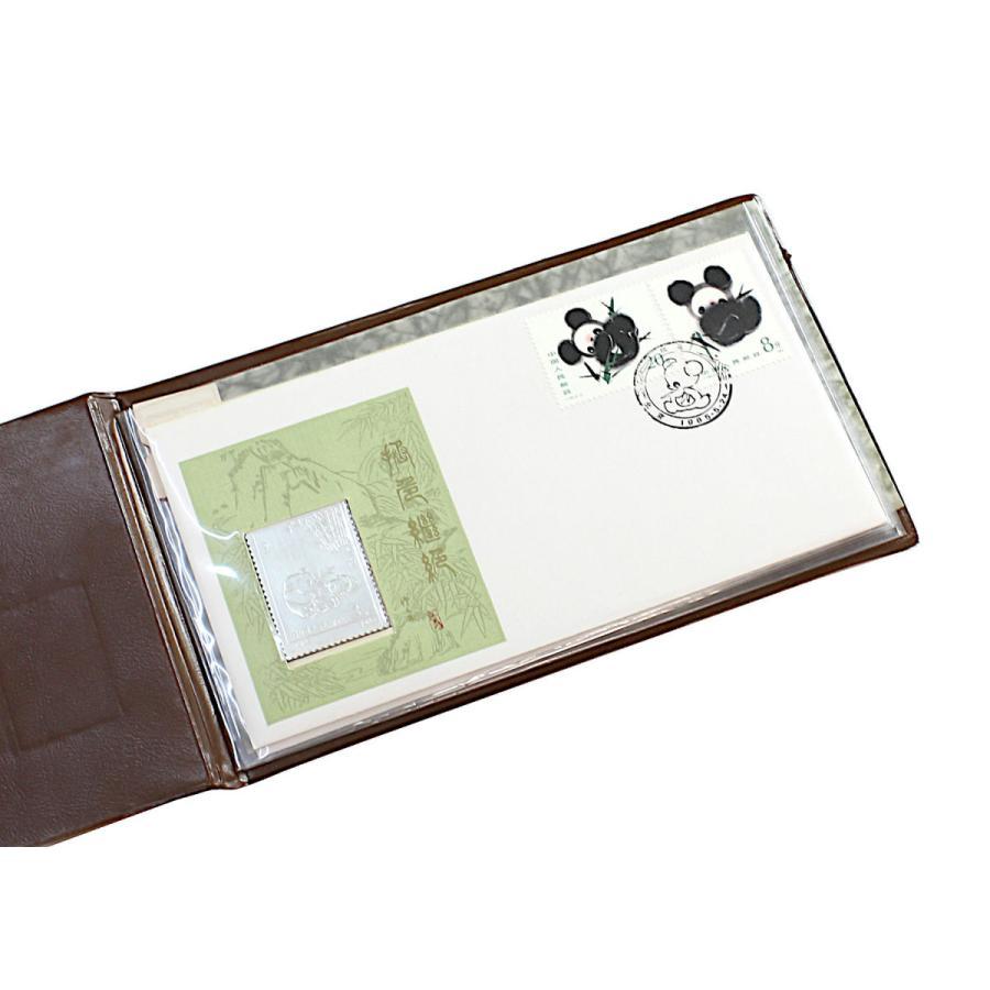 アウトレット品 中国切手 パンダ初日カバー3色3冊セット 1985年T106 クリックポスト送料無料 stamp-coin-ebisu 02