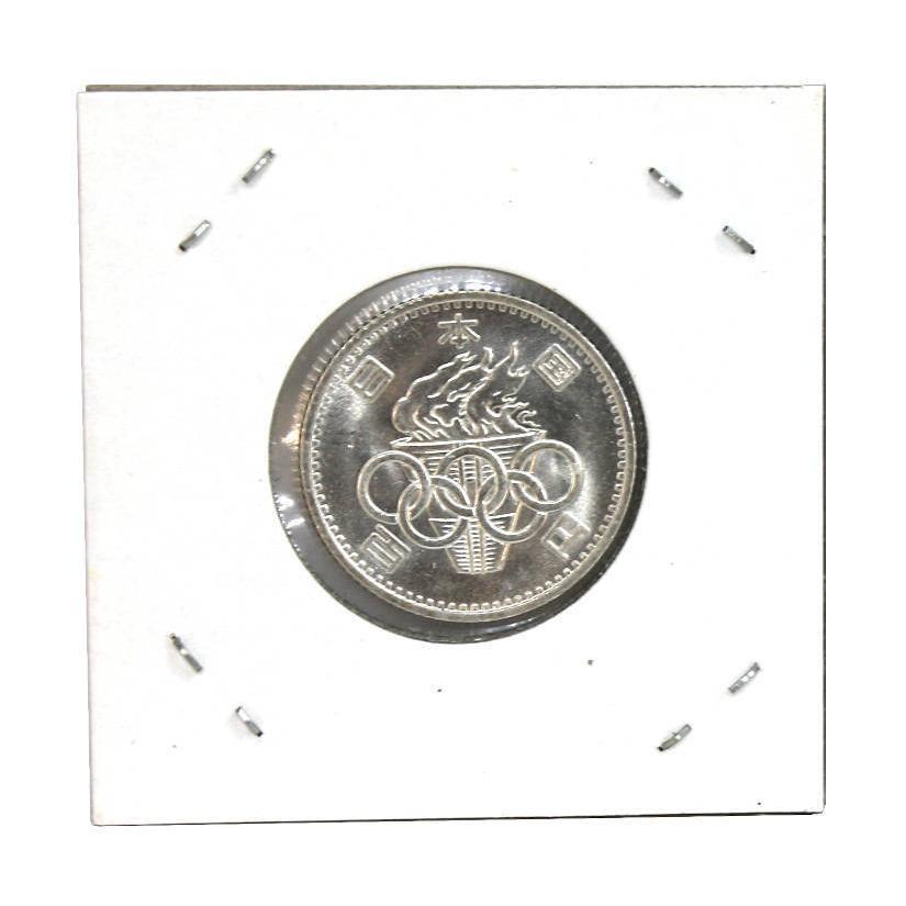 1964年(昭和39年)東京オリンピック 東京五輪 100円銀貨 stamp-coin-ebisu