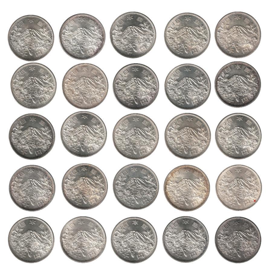 東京オリンピック 東京五輪 1000円銀貨【状態良好】 50枚セット 昭和39年 stamp-coin-ebisu 04