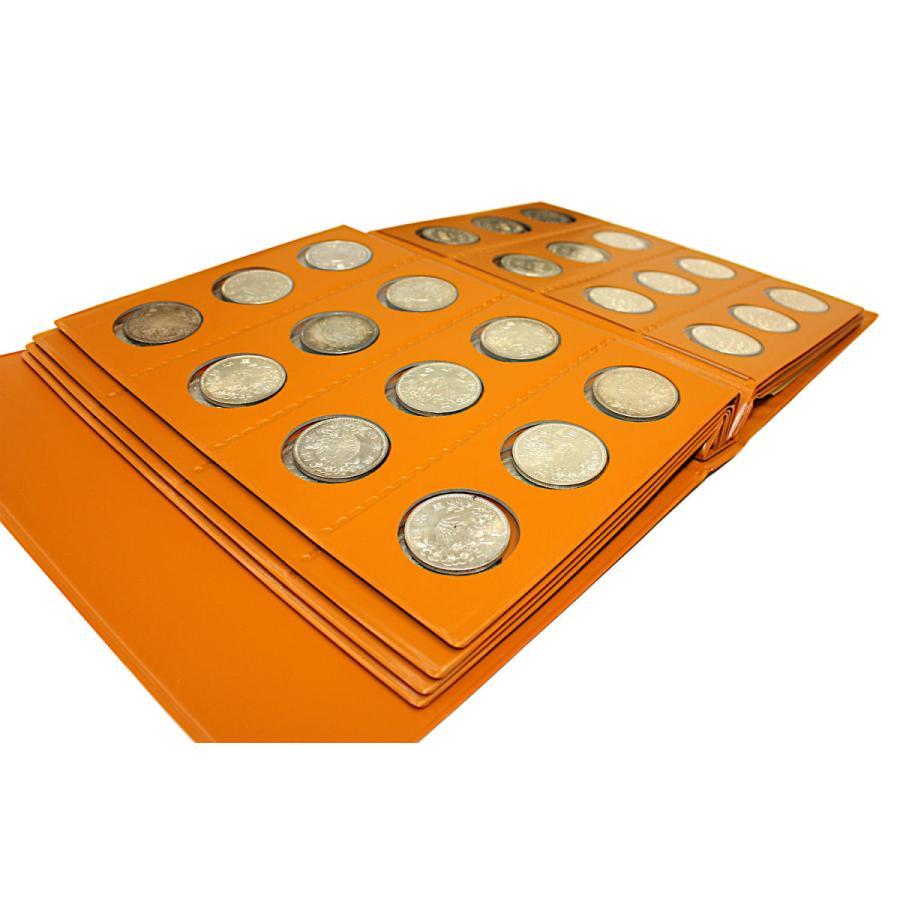 東京オリンピック 東京五輪 1000円銀貨(昭和39年) 96枚一括 コインアルバム収納品(中古)|stamp-coin-ebisu|05