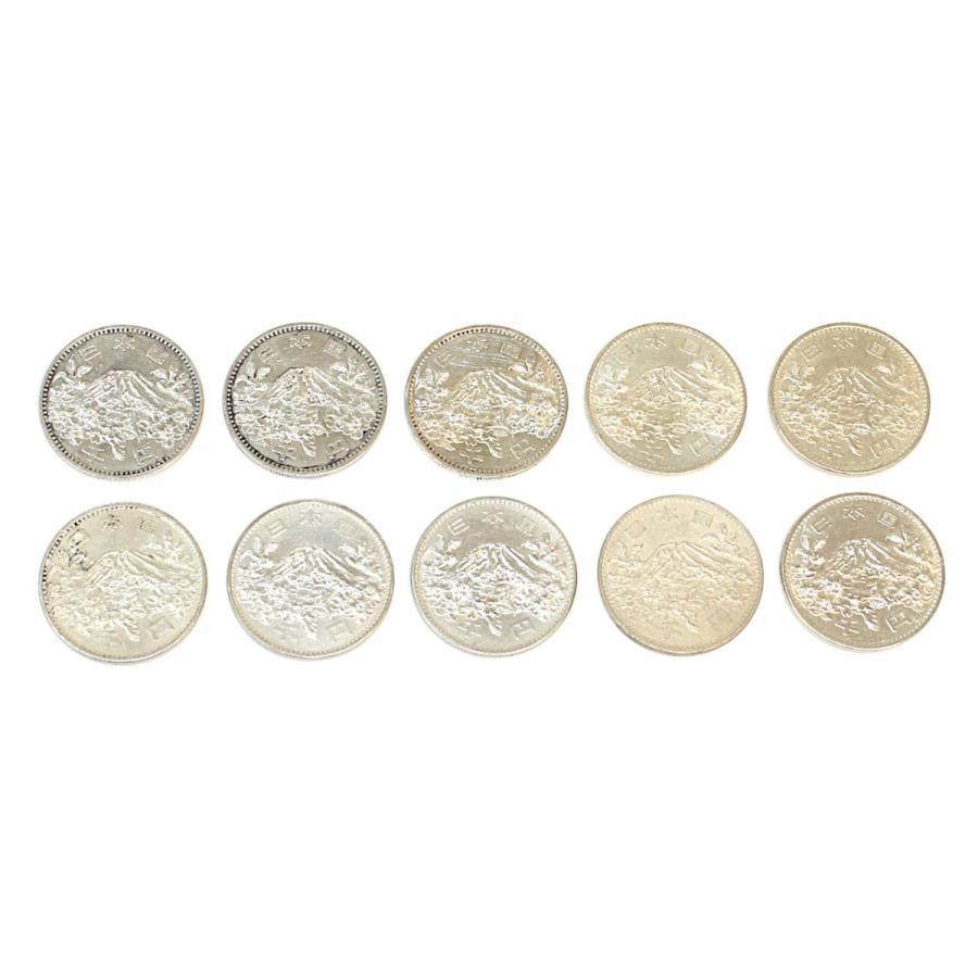 【傷あり特価】東京オリンピック 東京五輪 1000円銀貨 10枚セット 昭和39年 210607 stamp-coin-ebisu 02